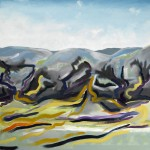 Foothills, Nepal - Oil on Canvas 61x61cm - 350 