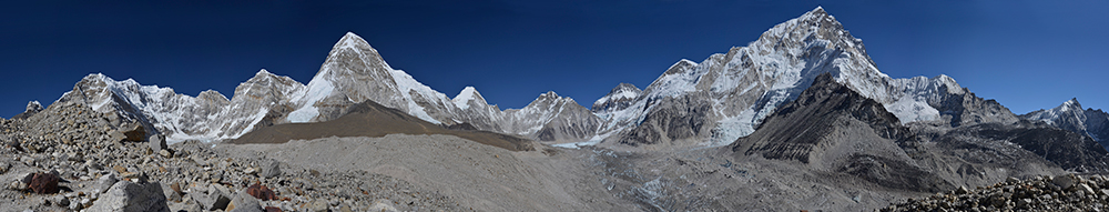Gorak Shep Panorama