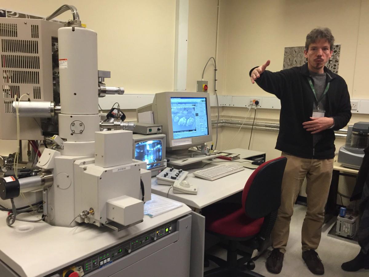 Kew Gardens - Scanning Electron Microscope