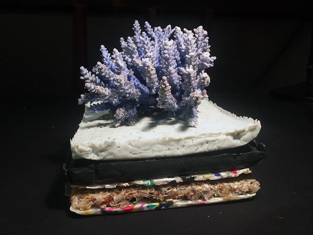 Plastic Tiles & Coral