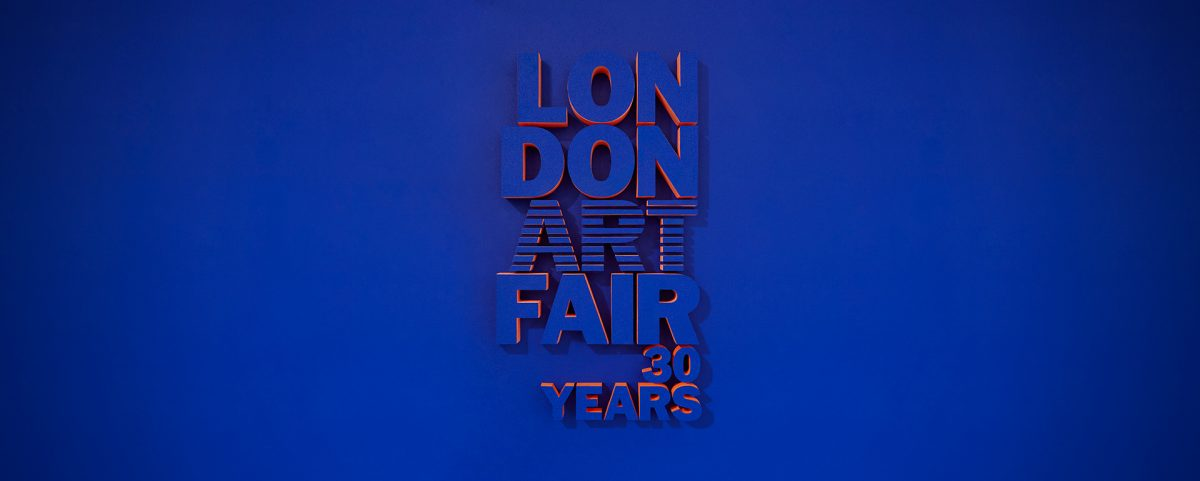 London Art Fair banner